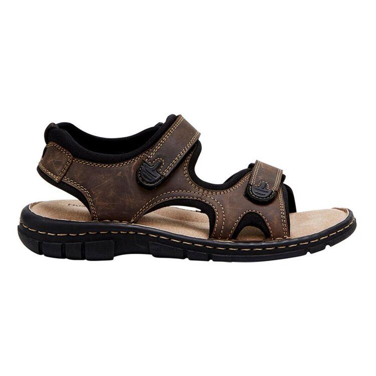 HUSH PUPPIES Wick Leather Adjustable Sandal