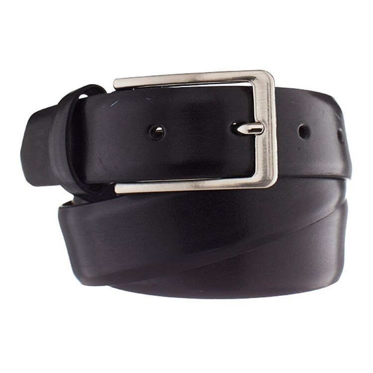 BRONSON CASUAL Milano Dress Leather Buckle Belt 30mm