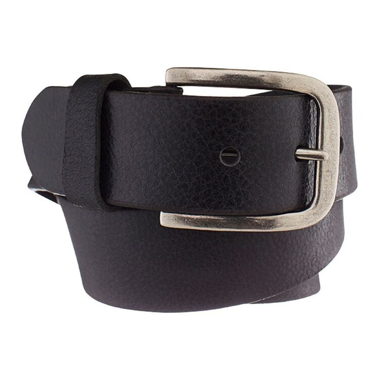 BRONSON CASUAL Genuine Leather Jeans Belt 38mm