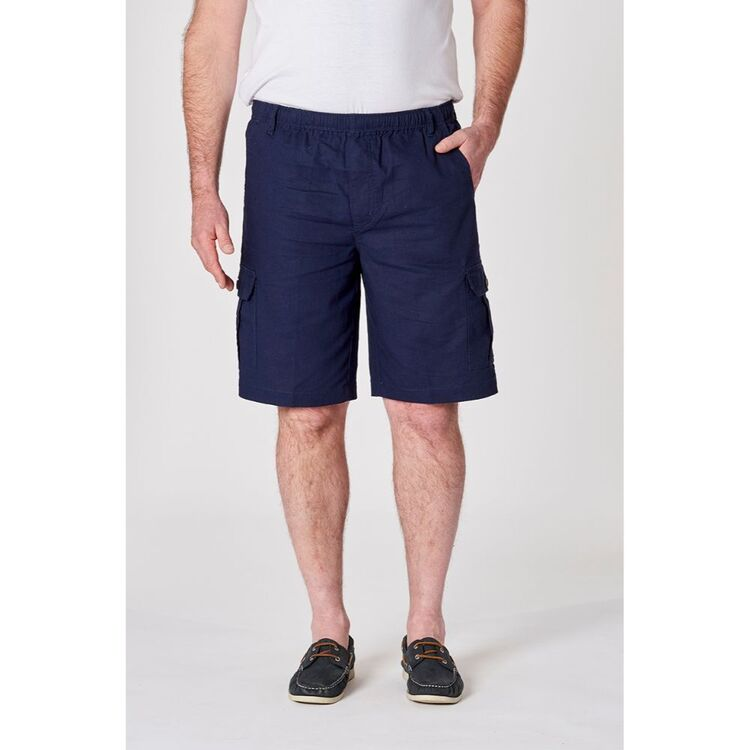 BRONSON BASIC Jervis Linen/Cotton Cargo Short