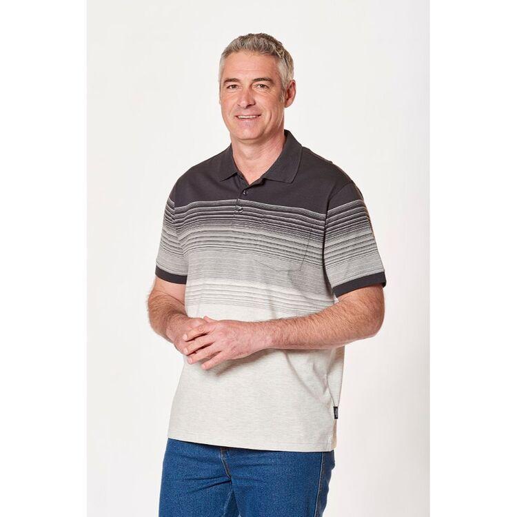 BRONSON CASUAL Mens Balwyn Cotton Jersey Polo
