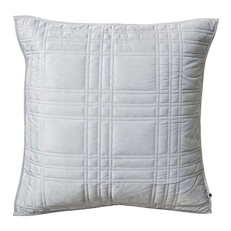 JANE LAMERTON Bronte Embossed Velvet European Pillowcase 65x65cm