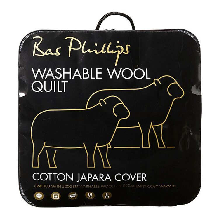 BAS PHILLIPS BAS PHILIPS 500GSM WASHABLE WOOL QUILT QB