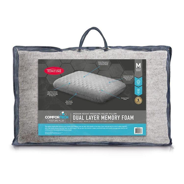TONTINE Dual Layer Memory Foam Pillow