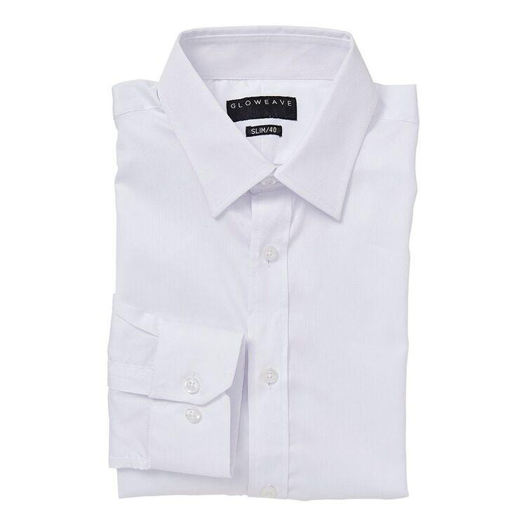 GLOWEAVE Mens Essential Long Sleeve Business Shirt