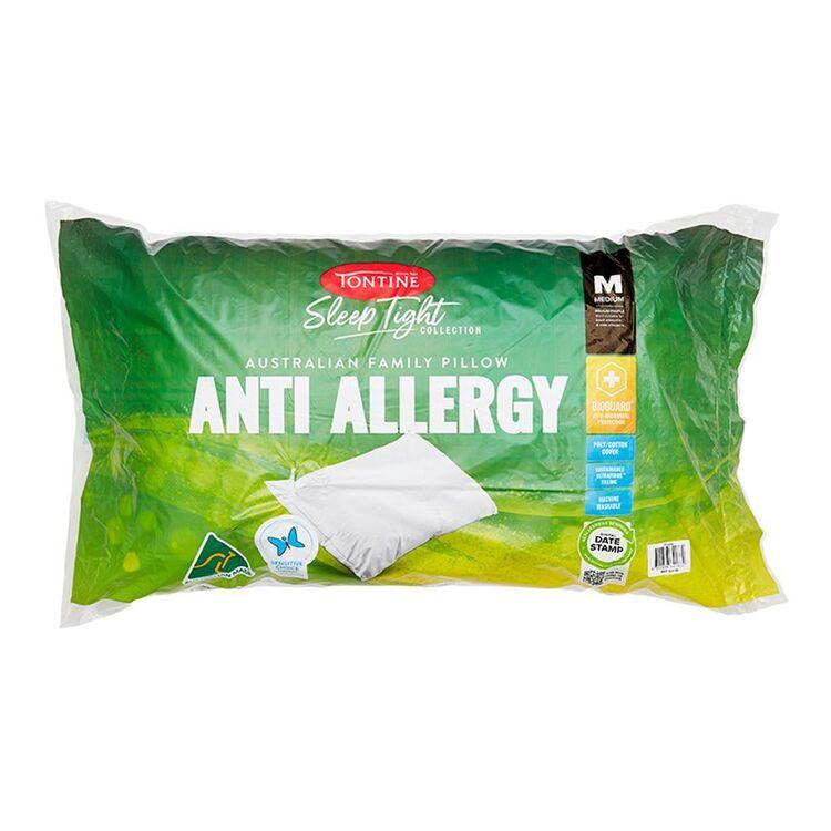 TONTINE Sleeptight Anti Allergy Medium Pillow