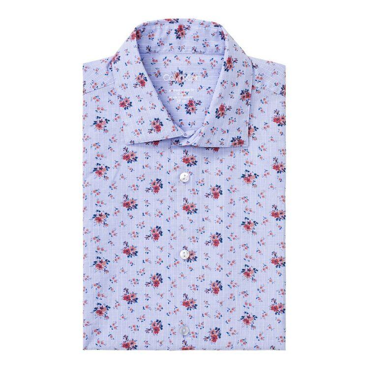 CALVIN KLEIN Mens Long Sleeve Slim Fit Business Shirt
