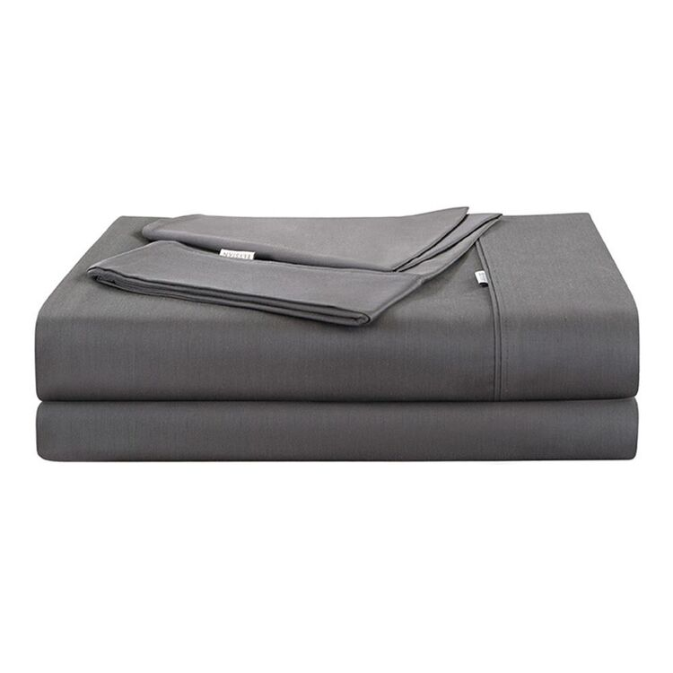 ELYSIAN 400 BAMBOO COTTON SHEET SET QUEEN BED