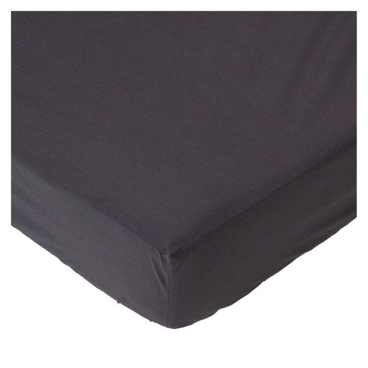 LINEN HOUSE 300 Thread Count Cotton Fitted Sheet Queen Bed