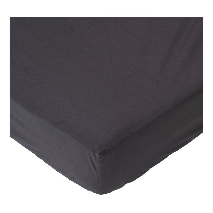LINEN HOUSE 300 Thread Count Cotton Fitted Sheet King Bed
