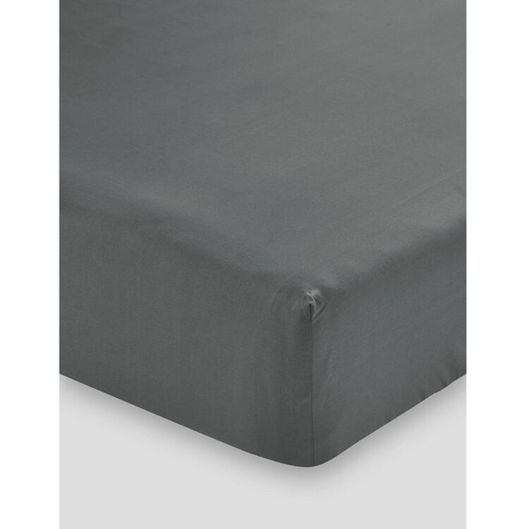 LINEN HOUSE 300 THREAD COUNT 50cm FITTED SHEET KINGBED
