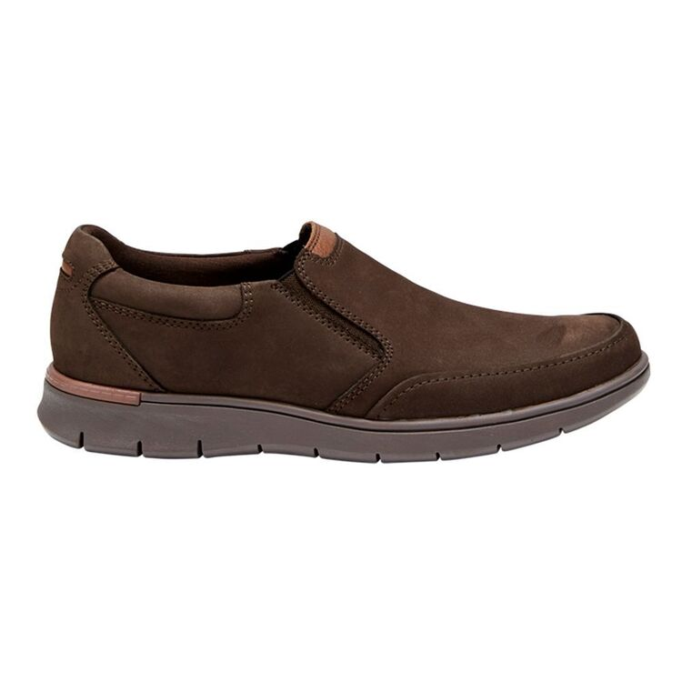 HUSH PUPPIES BOLD MENS LEATHER SLIP ON CASUAL SHOE