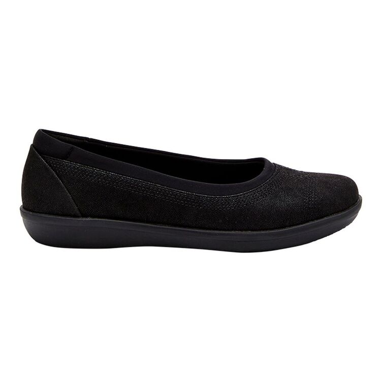 CLOUD STEPPERS BY CLARKS AYLA LOW CUSHION SOFT BALLET