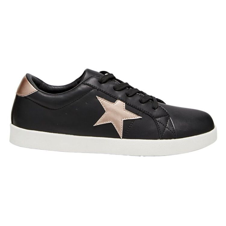 KHOKO LACE UP SNEAKER WITH STAR DETAIL