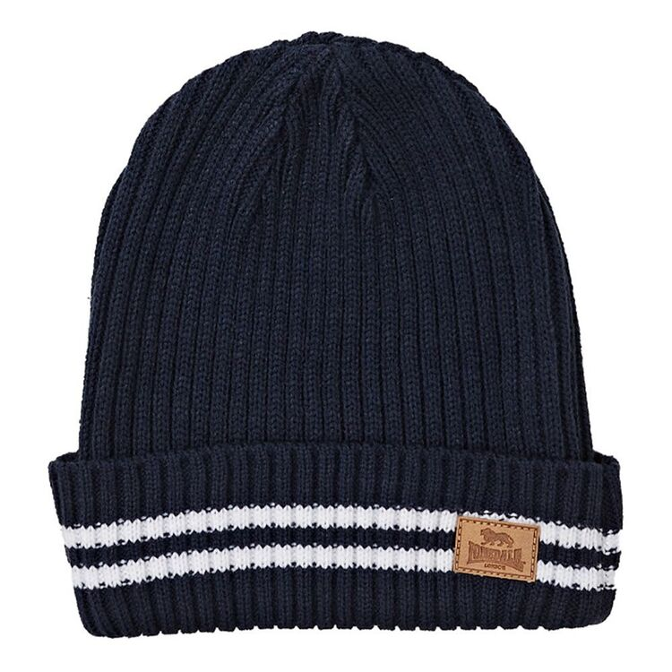 LONSDALE Mens Knit Beanie
