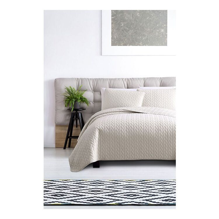 ARDOR MAYA 3 PIECE QUILTED COVERLET KING BED