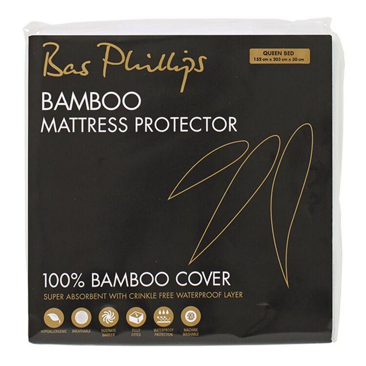 BAS PHILLIPS BAMBOO WATERPROOF MATTRESS PROTECTOR QB