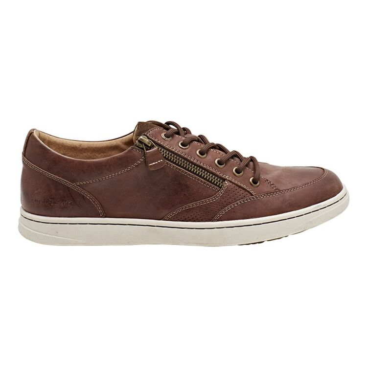 HUSH PUPPIES HUSH PUPPIES TRENT MENS LEATHER LACE UP