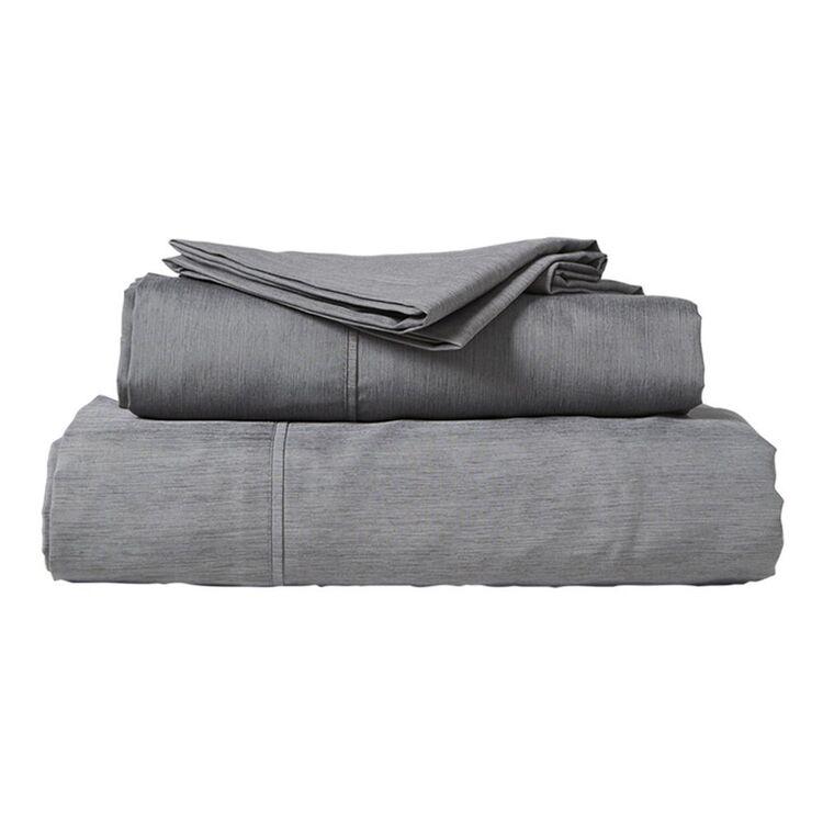 ODYSSEY LIVING BAMBOO BLEND SHEET SET QUEEN BED