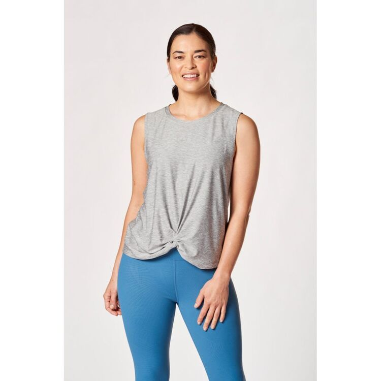 LMA ACTIVE WOMEN'S KNOT FRONT TANK