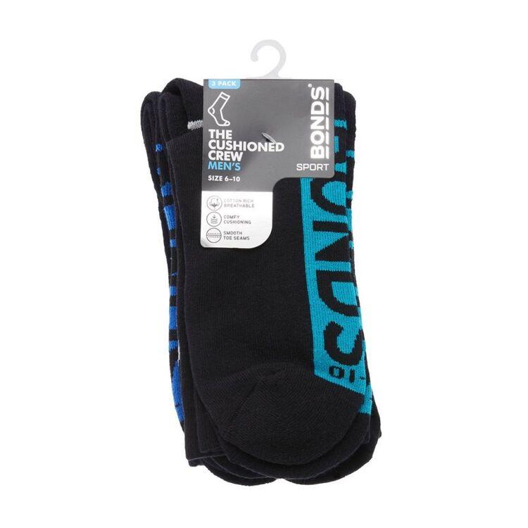 BONDS 3pk SMP Crew Socks