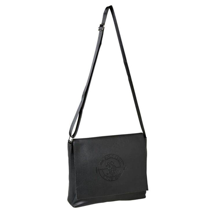 Us Polo Assn U.S. POLO ASSN. SHOULDER BAG WITH EMBOSSED LOGO
