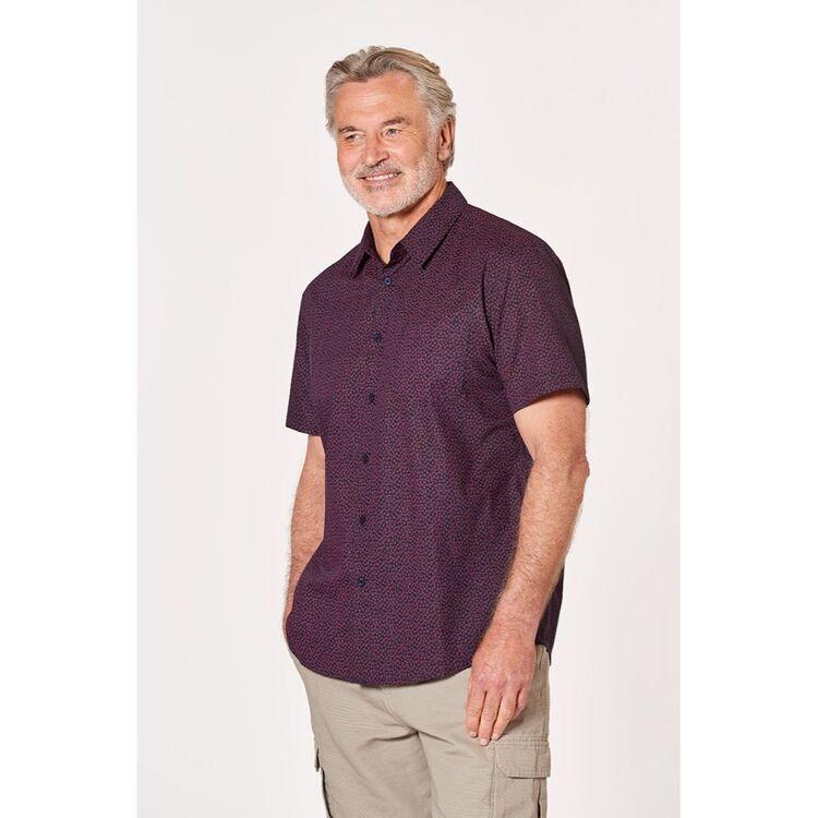 BRONSON CASUAL Tyrell Mini Burst Cotton Short Sleeve Shirt