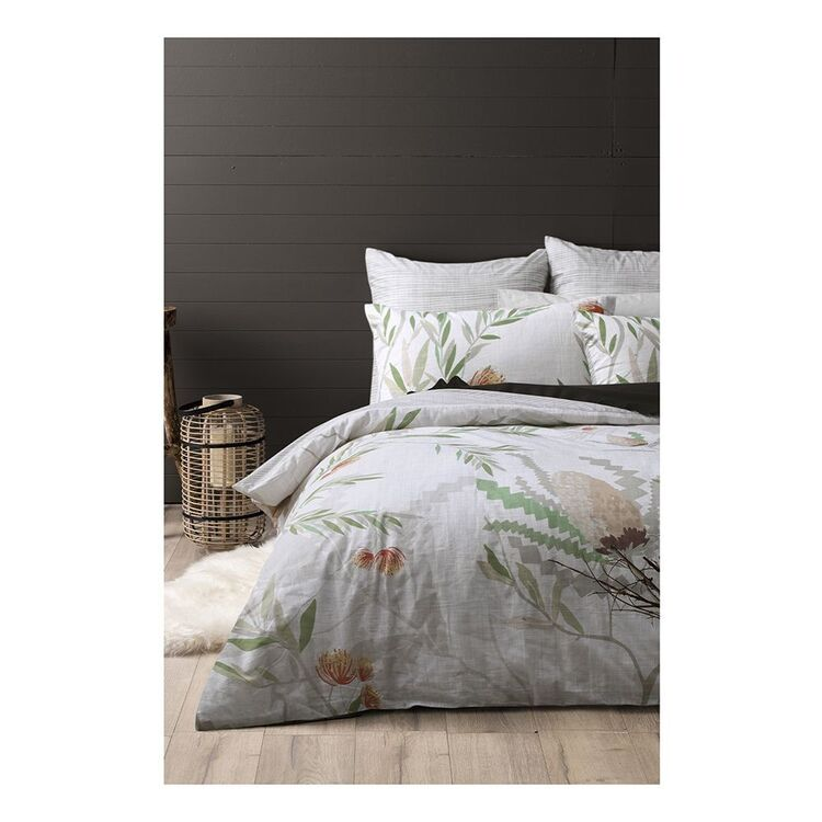 DRI GLO BANKSIA QUILT OVER SET KING BED