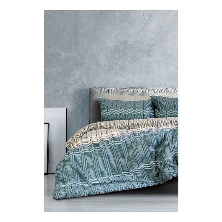 ARDOR HASLAM 3 PIECE COMFORTER SET SINGLE BED/DOUBLE BED