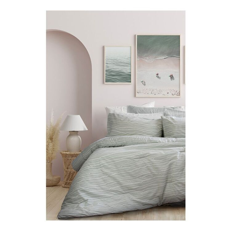 ARDOR WAVES 3 PIECE COMFORTER SET SINGLE BED/DOUBLE BED