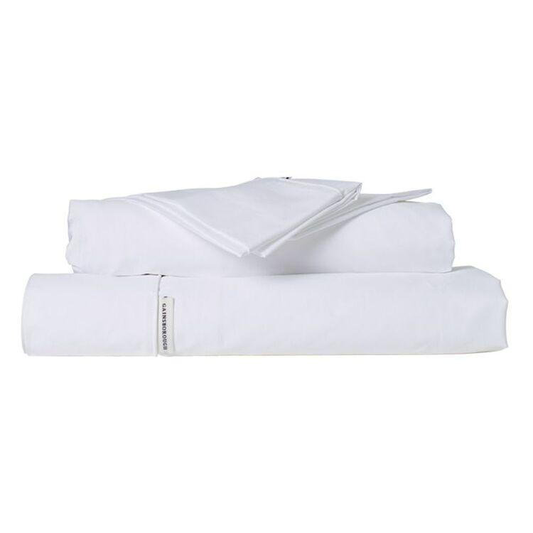GAINSBOROUGH 400 THREAD COUNT PIMA COTTON COTTON SHEET SET QUEEN BED