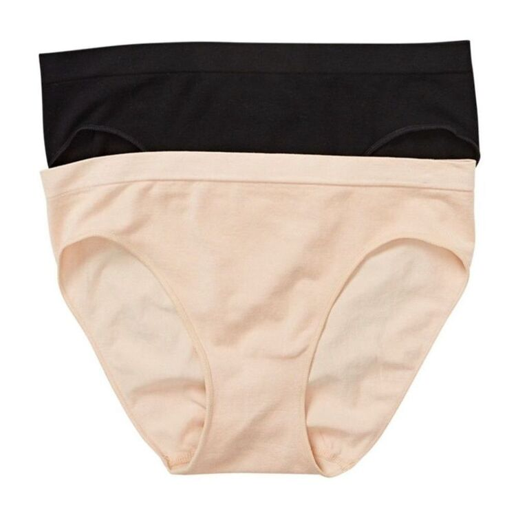 SASH & ROSE 2 Pack Soft Touch Seamfree Full Brief