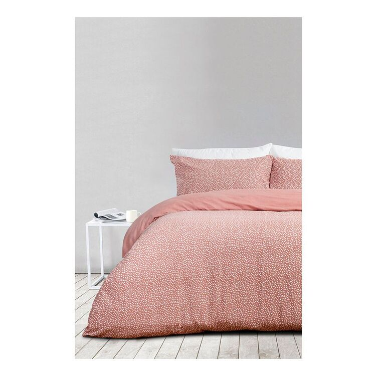 SHAYNNA BLAZE HOLLY PRINT FLANNELETTE QUILT COVER SETQUEEN BED