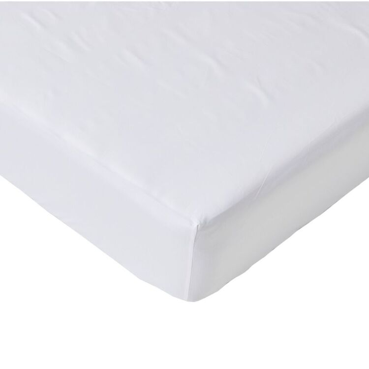 ELYSIAN 500TC EGYPTIAN COTTON FITTED SHEET  KING SINGLE BED