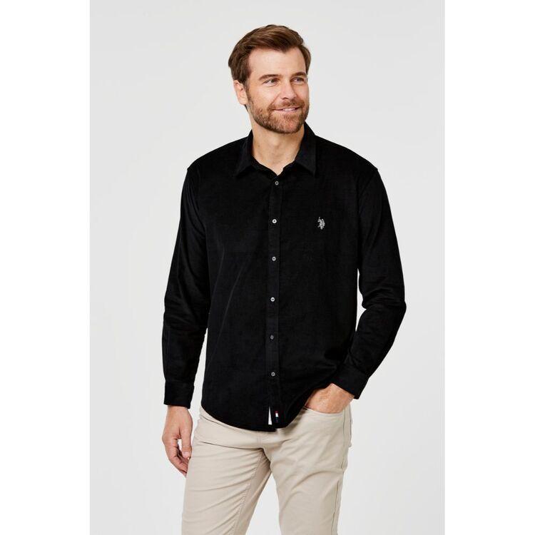 Us Polo Assn U.S. POLO ASSN. Long Sleeve Corduroy Shirt