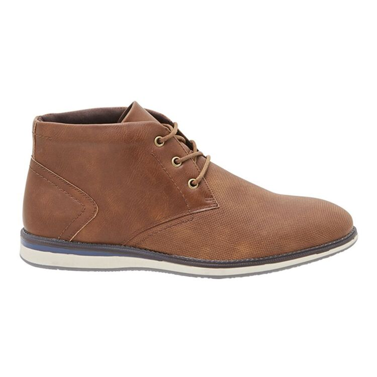BRONSON TALEN MENS LACE UP BOOTS