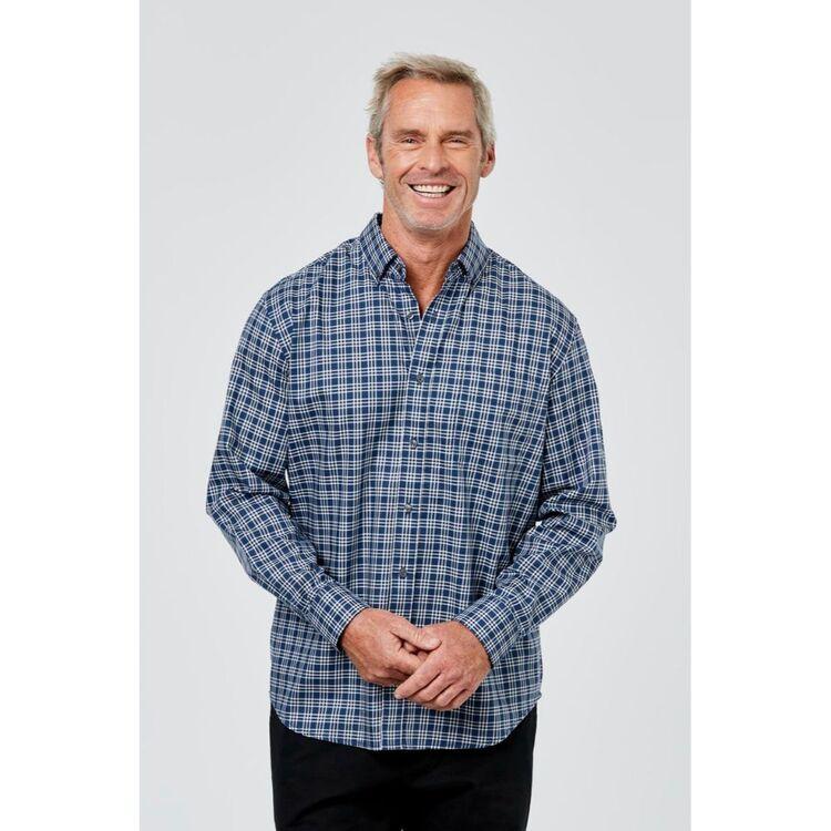 JC LANYON Blake Long Sleeve Long Sleeve Easy CareShirt