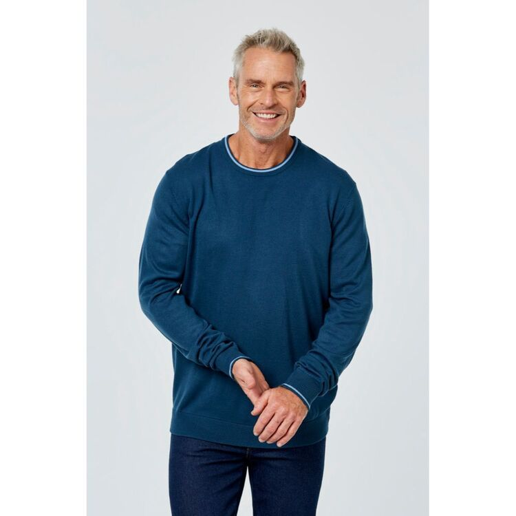 BRONSON CASUAL Bowman Soft Touch Crew Neck Knit