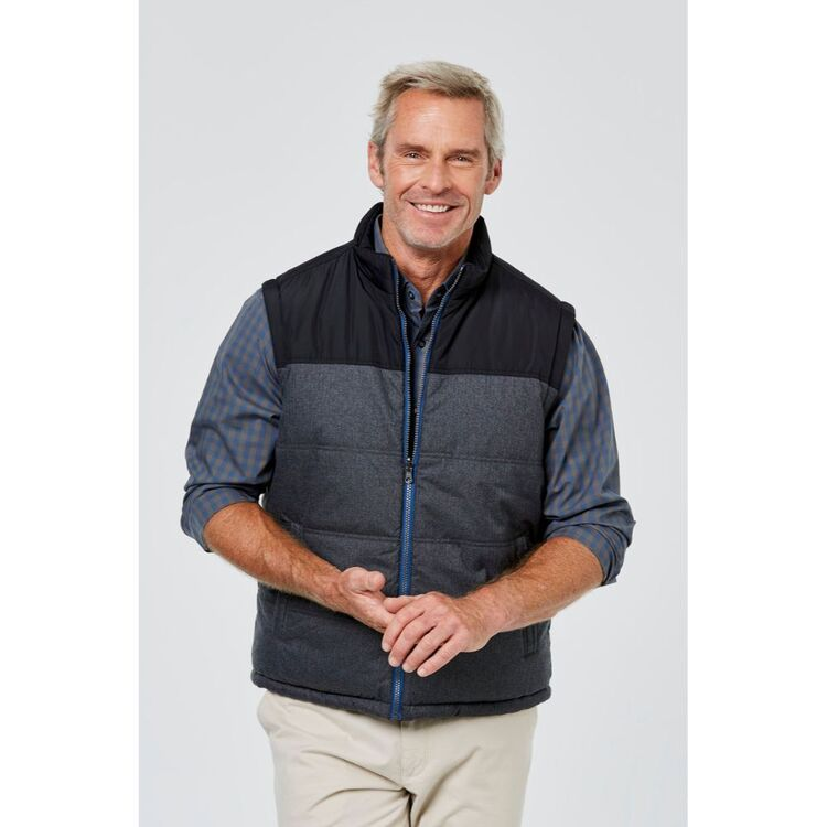 JC LANYON Austin Reversible Puffer Vest