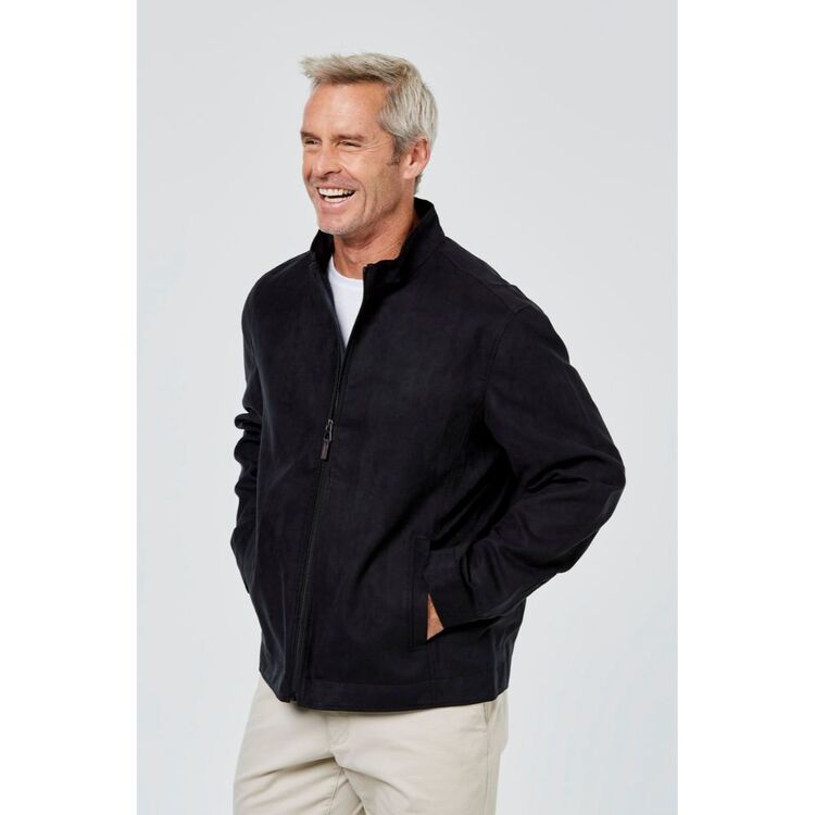 JC LANYON Ryder Suede Touch Jacket