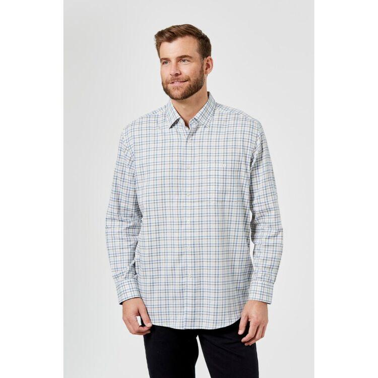 JC LANYON Dallas Long Sleeve Brushed Cotton Shirt