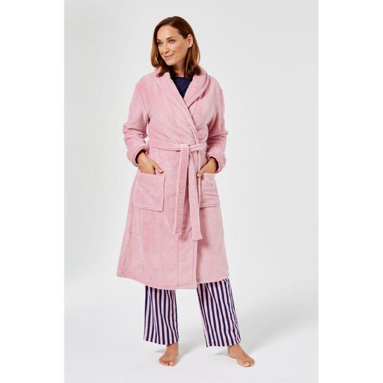 SASH & ROSE Shimmer Fleece Gown