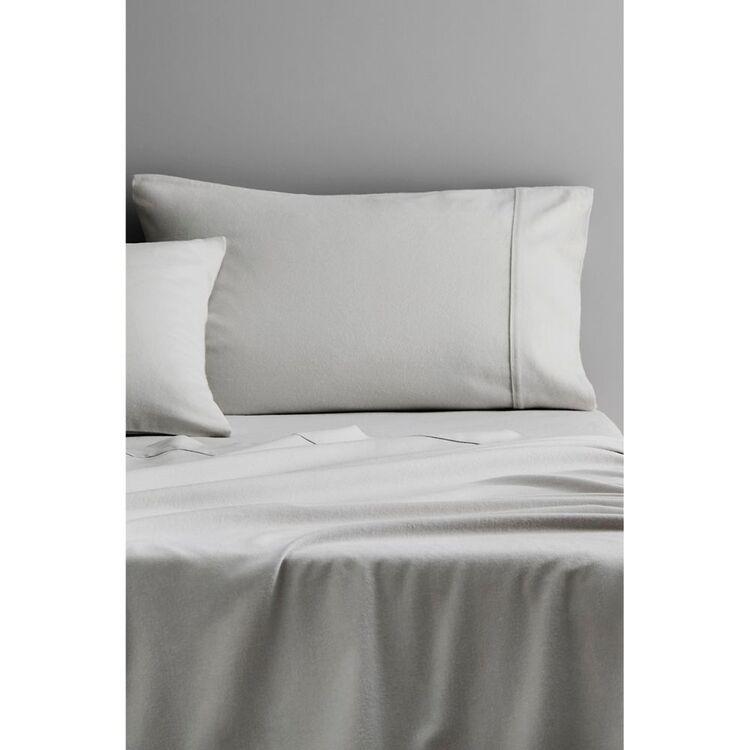 SHERIDAN PLAIN DYE FLANNELETTE SHEET SET QUEEN BED