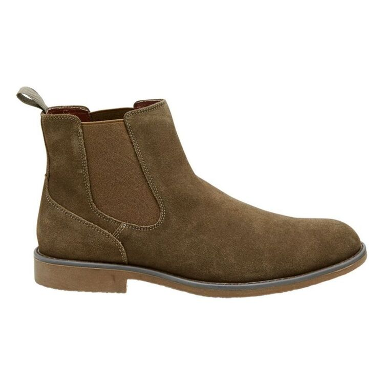 HUSH PUPPIES TYREE SUEDE CHELSEA GUSSET BOOT