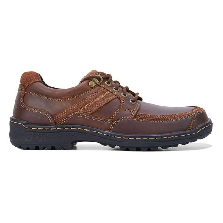 HUSH PUPPIES ALBATROSS MENS LEATHER LACE UP