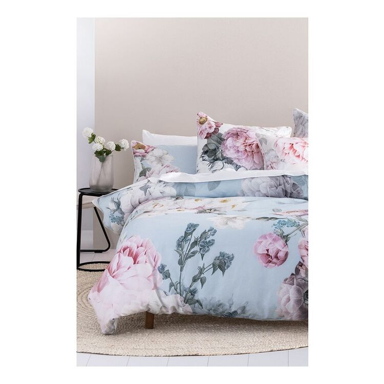 LINEN HOUSE AUDRINA QUILT COVER SET SUPER KING BED
