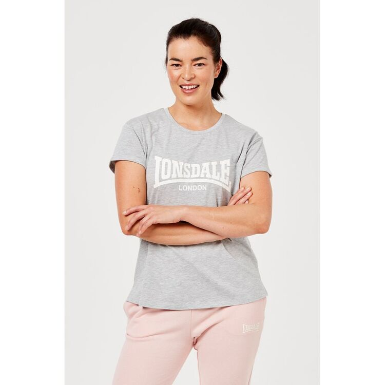 LONSDALE WOMENS HENLEY TEE