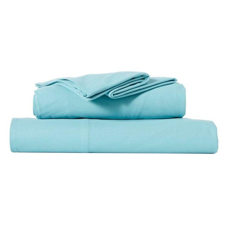 RAMESSES MICRO FLANNEL SHEET SET QUEEN BED