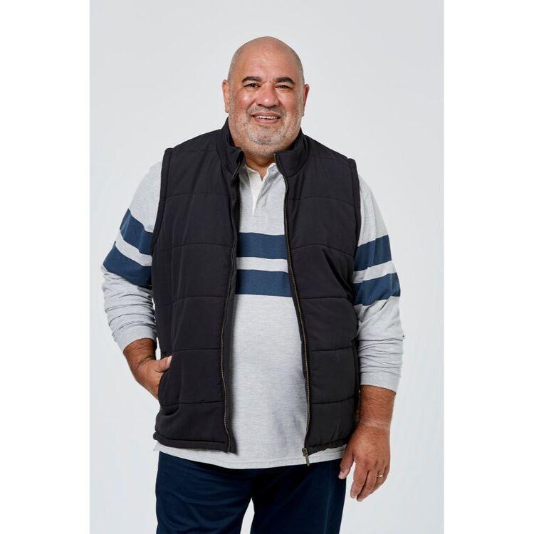 BRONSON BIG BIG MENS WINDHAM PUFFA VEST