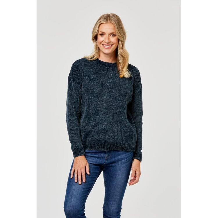 KHOKO COLLECTION CHENILLE JUMPER